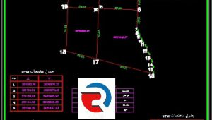 تهیه نقشه utm ماده 147 - 148 برای سند تک برگ